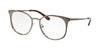 Michael Kors NEW ORLEANS MK3022 Round Eyeglasses  1218-COFFEE 53-18-140 - Color Map coffee