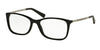 Michael Kors MK4016F Rectangle Eyeglasses  3005-BLACK 53-17-140 - Color Map black
