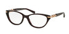 Michael Kors MK4020B Cat Eye Eyeglasses  3040-PINK SPARKLE 52-16-135 - Color Map pink