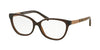 Michael Kors ADELAIDE III MK4029F Butterfly Eyeglasses  3116-DK BROWN TIGERS EYE 53-15-135 - Color Map brown