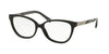 Michael Kors ADELAIDE III MK4029F Butterfly Eyeglasses  3120-BLACK METALLIC BLACK MARBLE 53-15-135 - Color Map black