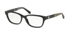 Michael Kors RANIA IV MK4031 Rectangle Eyeglasses  3168-BLACK 51-15-135 - Color Map black