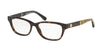 Michael Kors RANIA IV MK4031 Rectangle Eyeglasses  3180-DARK TORTOISE 51-15-135 - Color Map havana