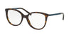 Michael Kors MK4034F Cat Eye Eyeglasses  3202-DK TORTOISE 52-18-135 - Color Map tortoise