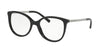 Michael Kors ANTHEIA MK4034F Cat Eye Eyeglasses  3204-BLACK 52-18-135 - Color Map black