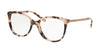 Michael Kors ANTHEIA MK4034F Cat Eye Eyeglasses  3205-PINK TORTOISE 52-18-135 - Color Map tortoise