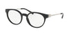 Michael Kors KEA MK4048 Round Eyeglasses  3163-BLACK 51-19-135 - Color Map black