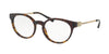 Michael Kors KEA MK4048 Round Eyeglasses  3293-DARK TORT 51-19-135 - Color Map havana