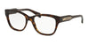 Michael Kors COURMAYEUR MK4059F Square Eyeglasses  3006-DARK TOT 52-18-140 - Color Map multicolor