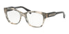 Michael Kors COURMAYEUR MK4059F Square Eyeglasses  3341-PINK SILVER FLAKES 52-18-140 - Color Map silver