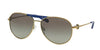 Michael Kors ZANZIBAR MK5001 Pilot Sunglasses  100411-GOLD-TONE 58-14-135 - Color Map gold