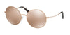 Michael Kors KENDALL II MK5017 Round Sunglasses  1026R1-ROSE GOLD-TONE 55-19-135 - Color Map pink