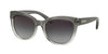 Michael Kors MITZI I MK6035 Cat Eye Sunglasses  312411-SMOKE CLEAR GRADIENT 53-18-135 - Color Map grey