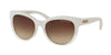Michael Kors MK6035 Cat Eye Sunglasses  312613-WHITE CLEAR GRADIENT 53-18-135 - Color Map white