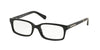 Michael Kors MEDELLIN MK8006 Rectangle Eyeglasses  3009-BLACK DARK TORTOISE 52-16-140 - Color Map black