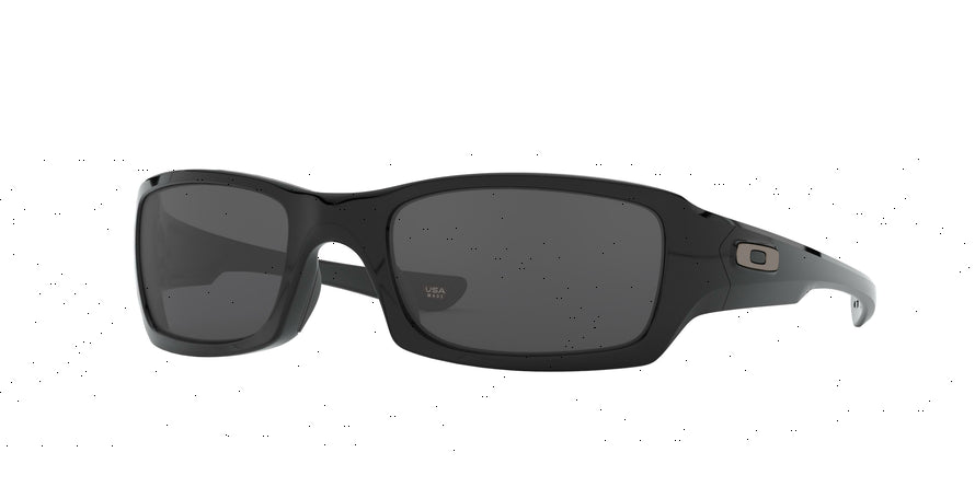 Oakley FIVES SQUARED OO9238 Rectangle Sunglasses  923804-POLISHED BLACK 54-20-133 - Color Map black