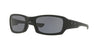 Oakley FIVES SQUARED OO9238 Rectangle Sunglasses  923833-MATTE BLACK 54-20-133 - Color Map black