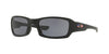 Oakley FIVES SQUARED OO9238 Rectangle Sunglasses  923834-MATTE BLACK 54-20-133 - Color Map black