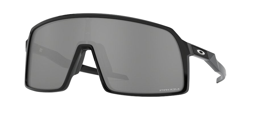 Oakley SUTRO OO9406 Rectangle Sunglasses  940601-POLISHED BLACK 37-137-140 - Color Map black