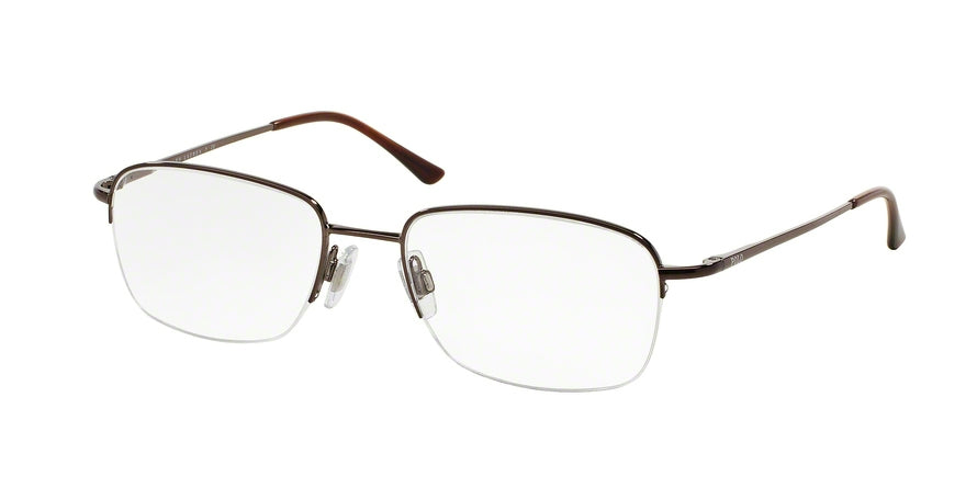 Polo PH1001 Square Eyeglasses  9011-BROWN 53-19-135 - Color Map brown