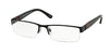 Polo PH1117 Rectangle Eyeglasses  9038-MATTE BLACK 58-17-145 - Color Map black