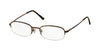 Polo PH1142 Pillow Eyeglasses  9013-SHINY BROWN 49-19-145 - Color Map brown