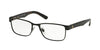 Polo PH1157 Rectangle Eyeglasses  9038-MATTE BLACK 57-17-150 - Color Map black
