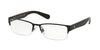 Polo PH1158 Rectangle Eyeglasses  9267-SEMI SHINY BLACK 53-17-145 - Color Map black