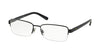 Polo PH1159 Rectangle Eyeglasses  9119-MATTE NAVY BLUE 56-17-145 - Color Map blue