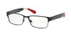 Polo PH1160 Rectangle Eyeglasses  9305-MATTE NAVY BLUE 54-16-145 - Color Map blue