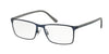 Polo PH1165 Rectangle Eyeglasses  9119-MATTE DARK BLUE 55-17-145 - Color Map blue
