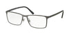 Polo PH1165 Rectangle Eyeglasses  9187-MATTE DARK GUNMETAL 55-17-145 - Color Map gunmetal