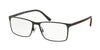 Polo PH1165 Rectangle Eyeglasses  9267-SEMI SHINY BLACK 53-17-145 - Color Map black