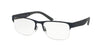 Polo PH1168 Pillow Eyeglasses  9320-RUBBER NAVY BLUE 55-18-145 - Color Map blue