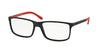 Polo PH2126 Rectangle Eyeglasses  5504-MATTE BLACK 55-16-145 - Color Map black