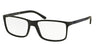 Polo PH2126 Rectangle Eyeglasses  5505-MATTE BLACK 55-16-145 - Color Map black