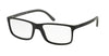Polo PH2126 Rectangle Eyeglasses  5534-MATTE BLACK 53-16-145 - Color Map black