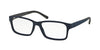 Polo PH2133 Rectangle Eyeglasses  5528-MATTE BLUE 54-16-140 - Color Map blue
