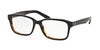 Polo PH2141 Rectangle Eyeglasses  5260-TOP BLACK/HAVANA 55-17-145 - Color Map black