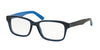 Polo PH2141 Rectangle Eyeglasses  5563-TRASPARENT BLUE 55-17-145 - Color Map blue