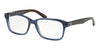 Polo PH2141 Rectangle Eyeglasses  5692-TRASPARENT BLUE 55-17-145 - Color Map blue