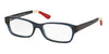 Polo PH2147 Rectangle Eyeglasses  5573-SHINY CRISTAL BLUE 52-16-140 - Color Map blue