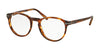Polo PH2150 Phantos Eyeglasses  5007-SHINY STRIPPED HAVANA 49-19-145 - Color Map havana