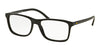 Polo PH2151 Square Eyeglasses  5001-SHINY BLACK 56-17-145 - Color Map black
