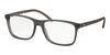 Polo PH2151 Square Eyeglasses  5320-MATTE CRISTAL GREY 54-17-145 - Color Map grey