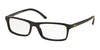 Polo PH2152 Rectangle Eyeglasses  5001-SHINY BLACK 54-17-145 - Color Map black