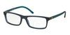 Polo PH2152 Rectangle Eyeglasses  5276-MATTE CRISTAL BLUE 52-17-145 - Color Map blue
