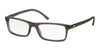 Polo PH2152 Rectangle Eyeglasses  5320-MATTE CRISTAL GREY 52-17-145 - Color Map green
