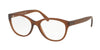 Polo PH2159 Butterfly Eyeglasses  5003-MATTE BROWN 54-17-140 - Color Map brown