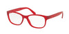 Polo PH2160 Butterfly Eyeglasses  5102-MATTE RED 52-16-140 - Color Map red